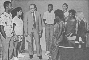 Picture from the first APSA Summer Institute in 1986.